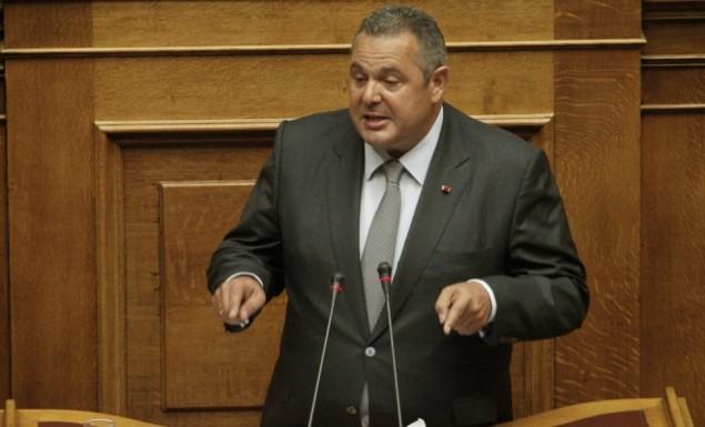 Καμμένος: «Ο ελληνικός λαός θα πρέπει να αποφασίσει με δημοψήφισμα για το όνομα των Σκοπίων» [Βίντεο]