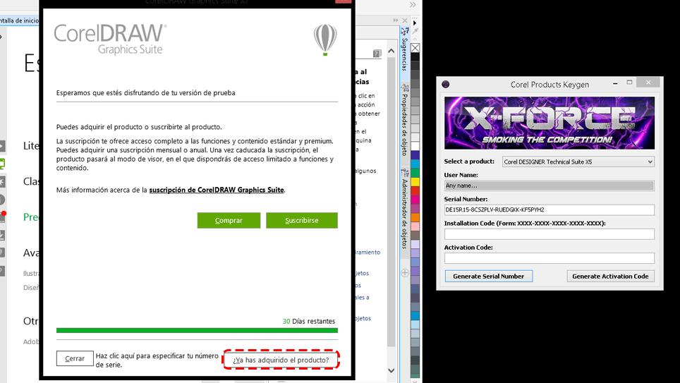 Informática para locos: Activar Corel Draw Graphics X7 [Windows][32 ...