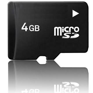 cartão memória 4gb