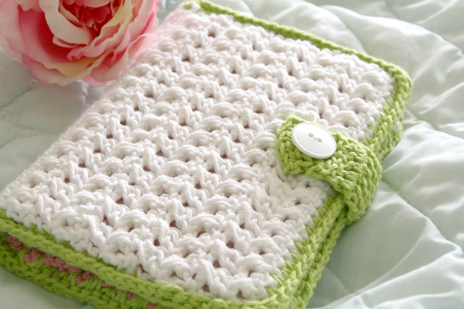 Book Cover Crochet Hook : Crochet gifts book covers on pinterest