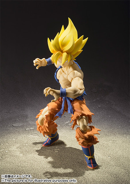 Battle damaged super saiyan son goku