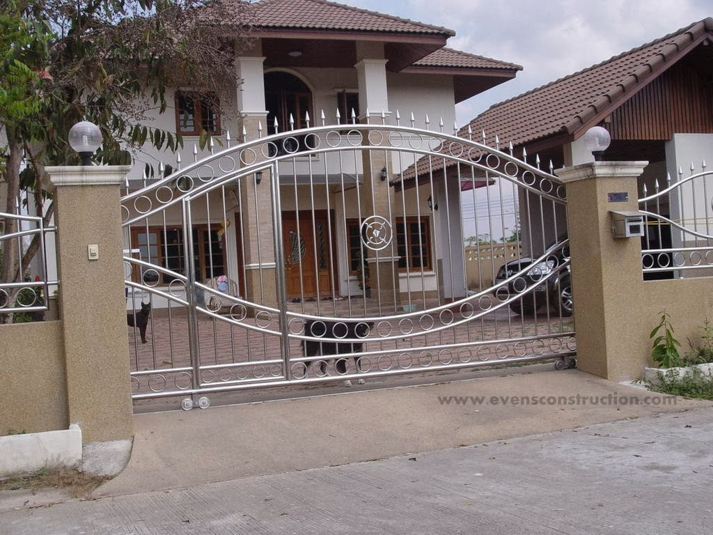 Design Of Compound Wall Gate : Evens construction pvt ltd compound walls and gates