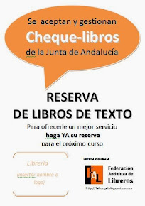 Descarga tu cartel Cheque-libros