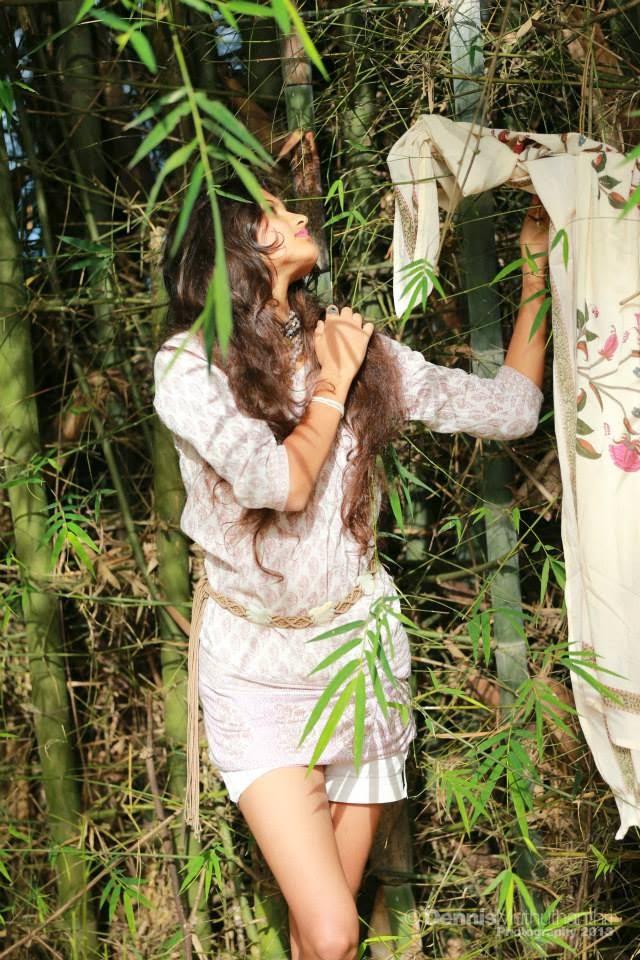 Rudrani Dias hot bamboo