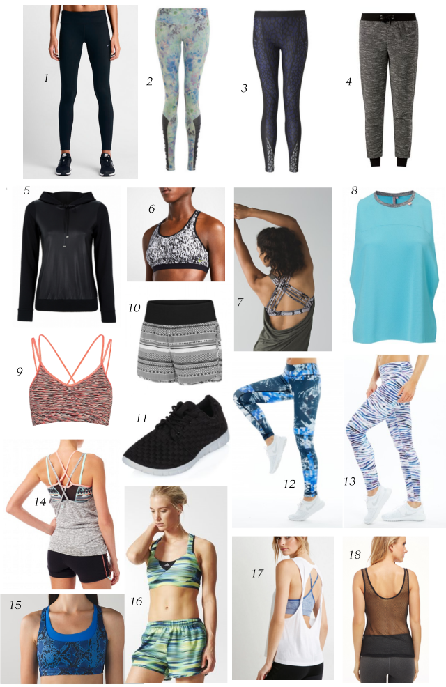 Workout Clothes Collection