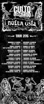 NULLA OSTA ON TOUR!!