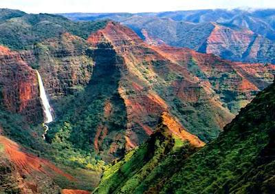 Cañon de Waimea en Hawai - que visitar