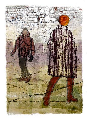 Alison Lumb 'Street Scene 1' - St Cuthberts Mill Award