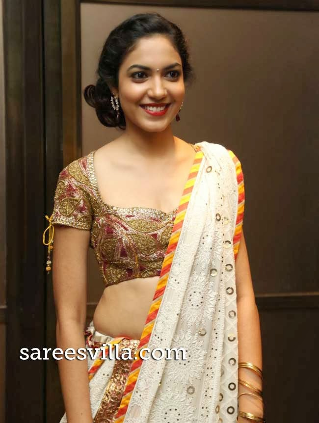 Actress Ritu Varma in designer lehenga