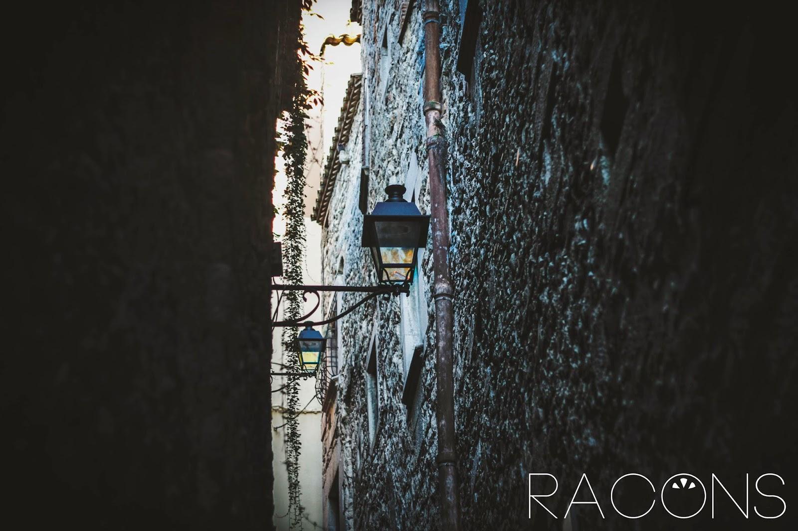 Detall fanals carrer sant llorenç girona