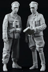 Alpine Miniatures 35165 Kurt Meyer & Officer Set review