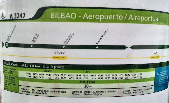 horario-autobus-bilbao-aeropuerto