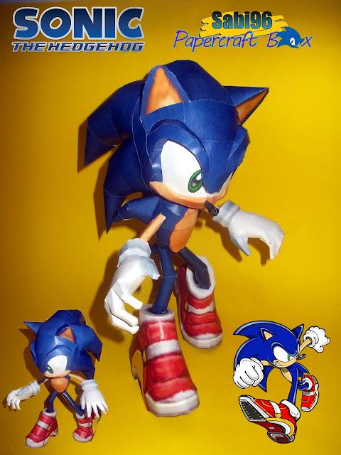 Sonic Adventure Papercraft