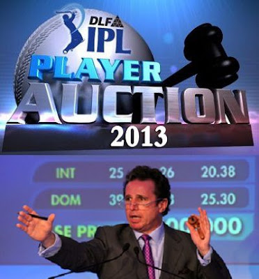 2013 IPL Auction: Players List