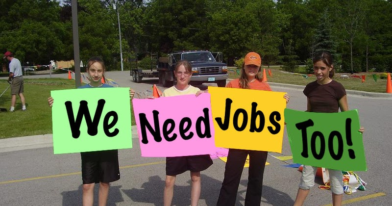 should teenagers have summer jobs essay Summer jobs for teenagers are life-changing access to meaningful workforce development and employment programs have the capacity to set young people on the path to a long-term career while helping.