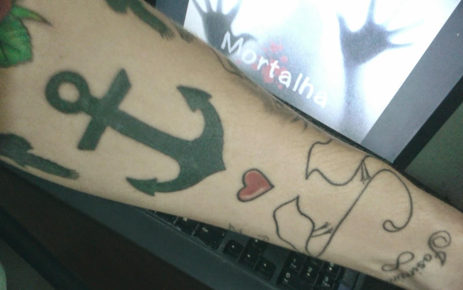 tatuagem, âncora