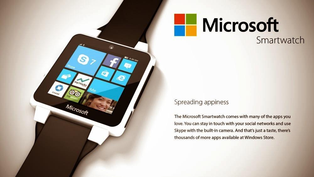 Best Android Market  Smartwatch Concept Runs Windows Wear