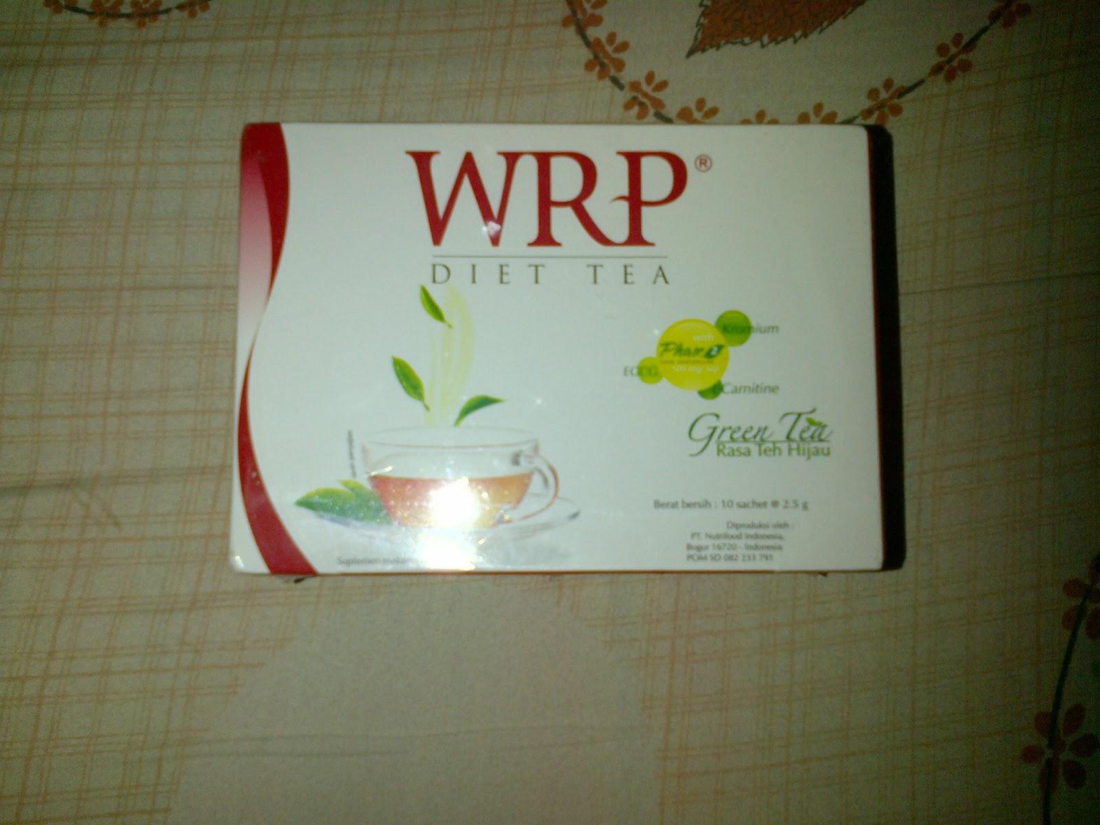 WRP Diet Tea / Teh Diet Pelangsing Pembakar Lemak
