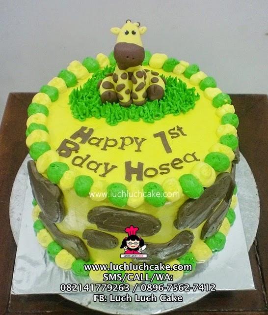 Kue Tart Jerapah Daerah Surabaya - Sidoarjo