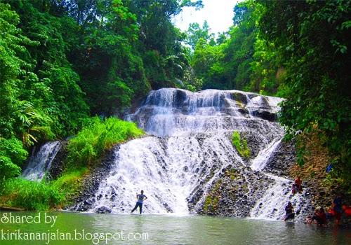 Objek Wisata Air Terjun Saukang Lembang