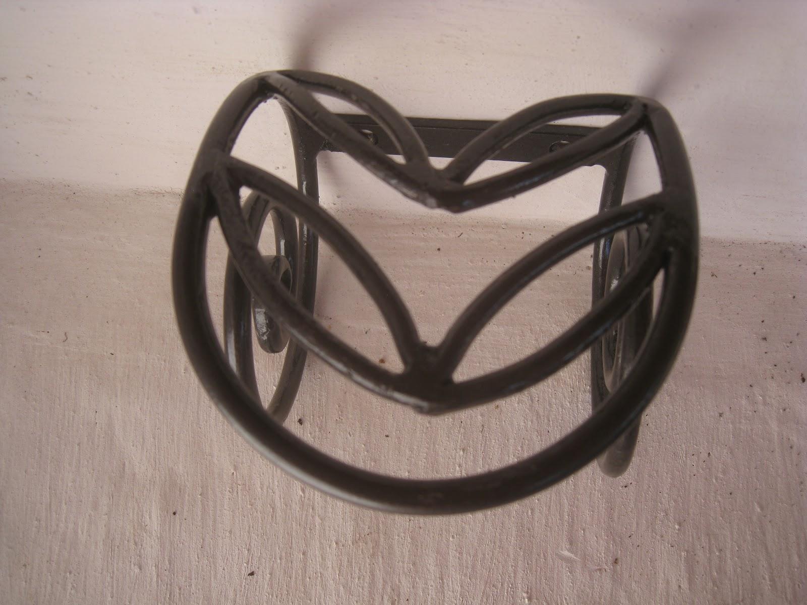 Mi forja yunque hierro y fuego accesorios - Portavelas de hierro ...