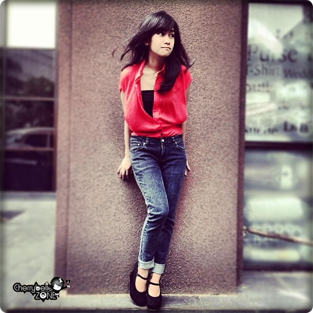 Cherrybelle Zone: Foto Anisa Chibi di Instagram