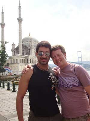 Mário (esquerda) e Ricardo em imagem de arquivo (Foto: Divulgação/ Arquivo pessoal)