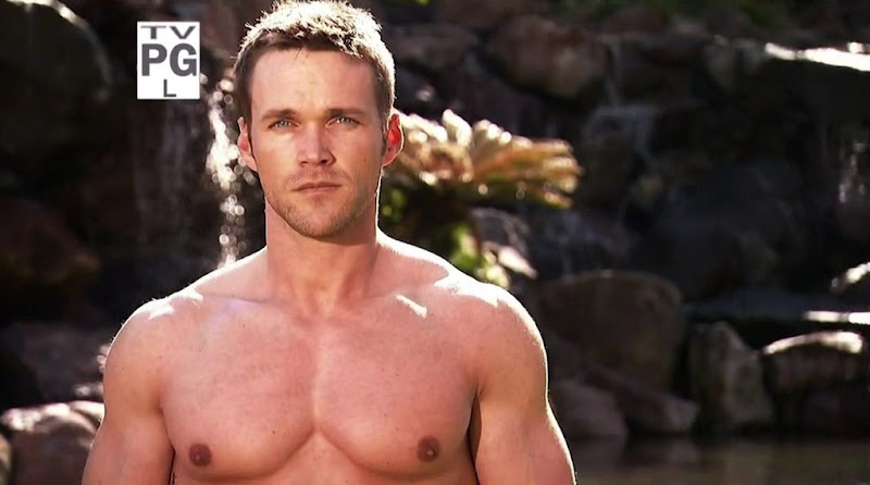Chris Powell Shirtless in Extreme Makeover Weight Loss Edition s1e03