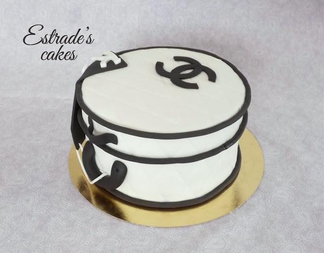 tarta neceser de Chanel 1
