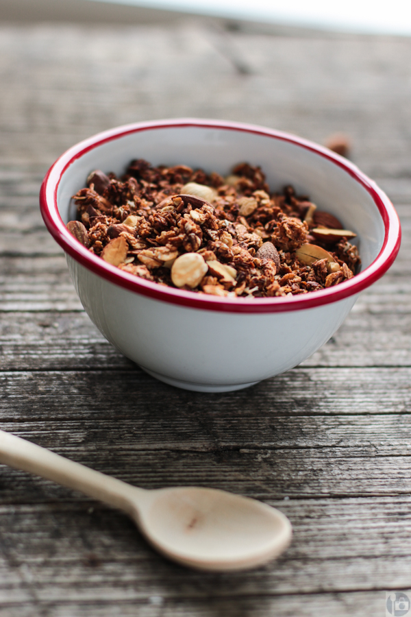 Breakfast is sorted: Apple Cinnamon Granola