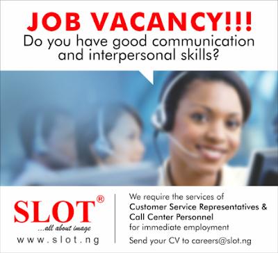 Slot vacancy
