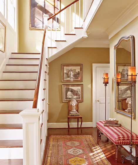 Welcoming Foyer Paint Color : Entryways paint color homes decoration tips