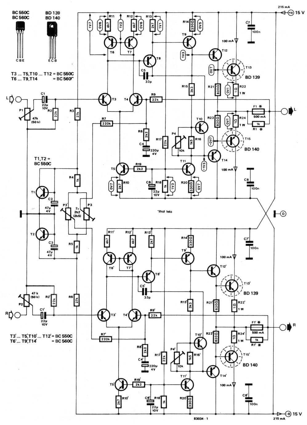 Tda1554q 2x22w Amplifier Circuit Tda1554 Stereo Bbb T Tube Otl Headphone Diagram Amplifiercircuit Schematic