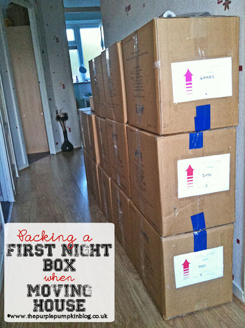 Packing A First Night Box When Moving House