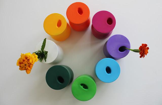 グラスや空き瓶♡風船で作る超簡単「フラワーベース」