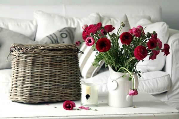 Cắm hoa trang trí phòng khách 24