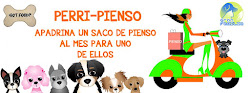 PERRI-PIENSO.  APADRINA UN SAQUITO DE PIENSO PARA ELLOS.