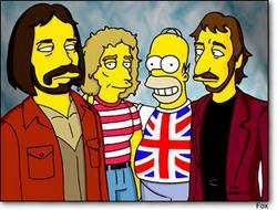 The Who nos Simpsons
