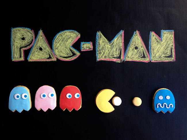 galletas decoradas pacman
