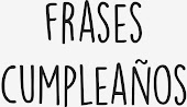 Frases Cumple