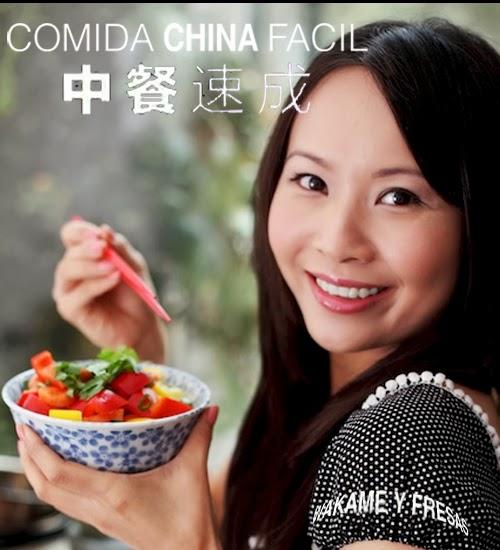 cartel comida china facil
