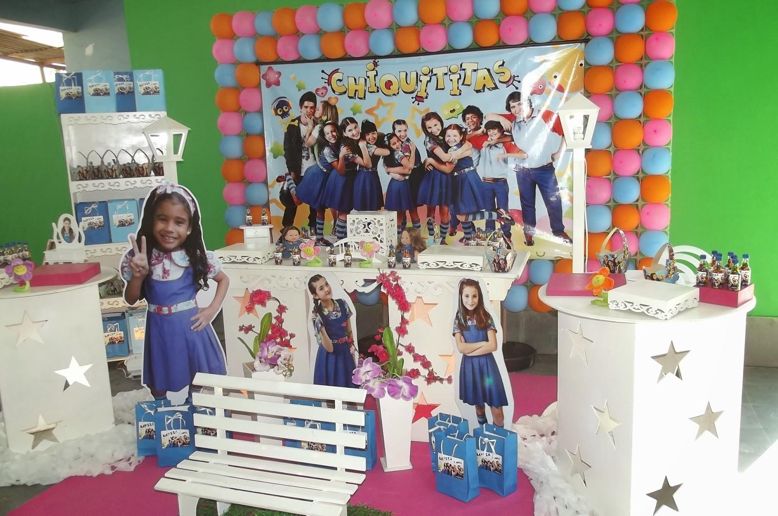Andreia Moreira Festas: Decora??o Chiquititas.