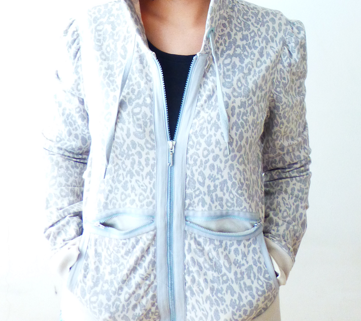 Juicy Couture leopard hoodie