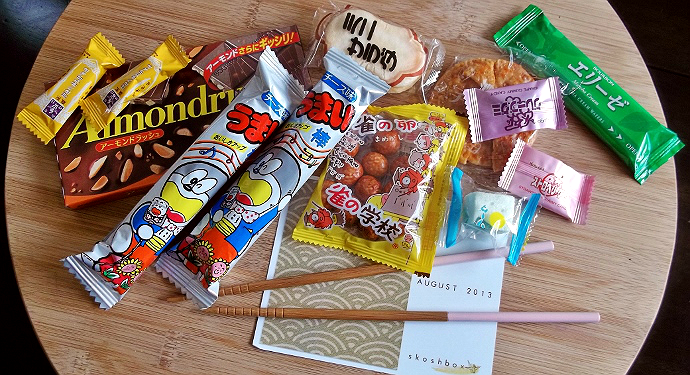 Skoshbox Japanese subscription box