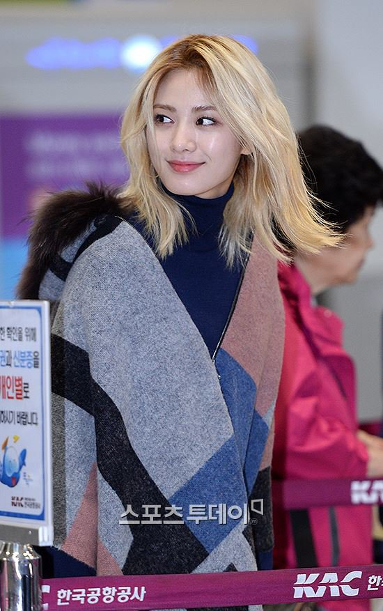 After School's Nana is spotted at the airport!