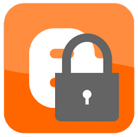 Blogger locked logo