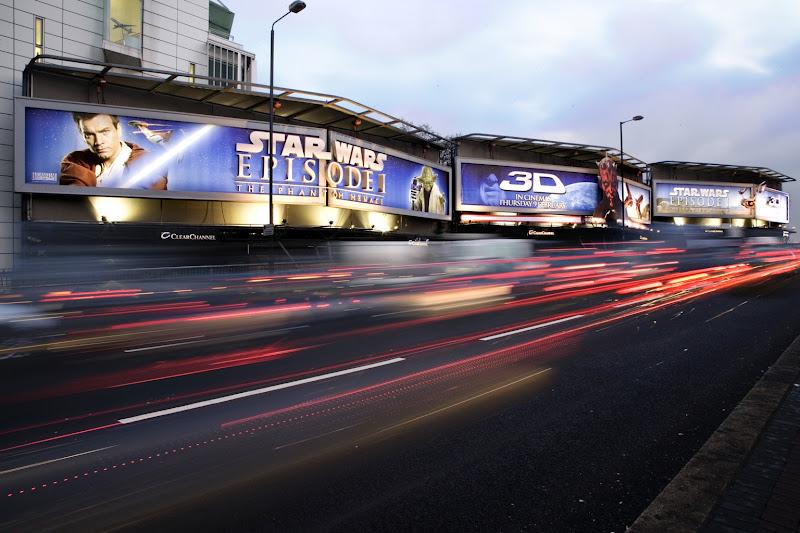 Star Wars 3D billboard Cromwell Rd