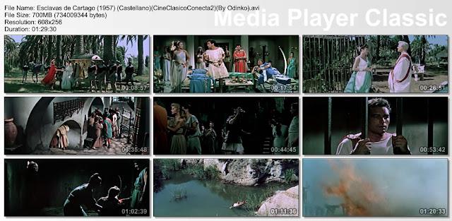 Esclavas de Cartago (1957) | Cine clásico