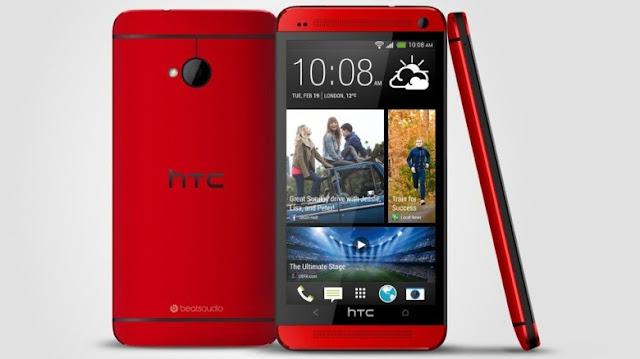 HTC One Red, Eksklusif untuk Pengguna di Inggris