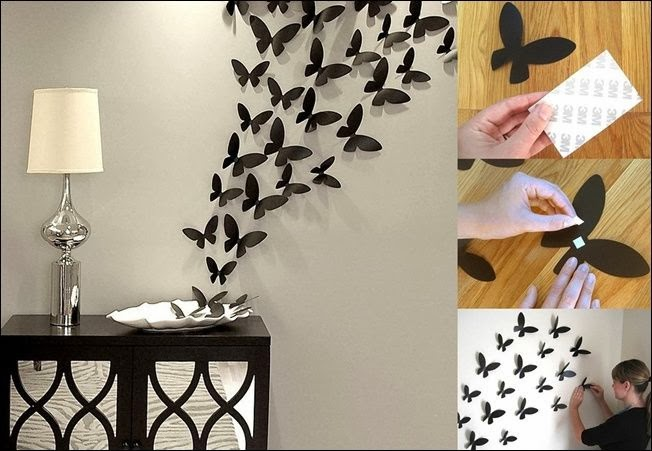 DIY Project Butterfly 3D Hiasan Dinding
